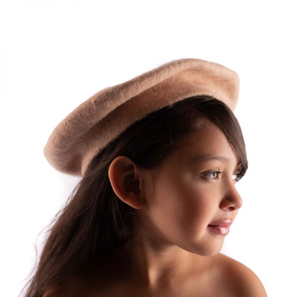 Little Lady B - French Style Beret Hat Tan