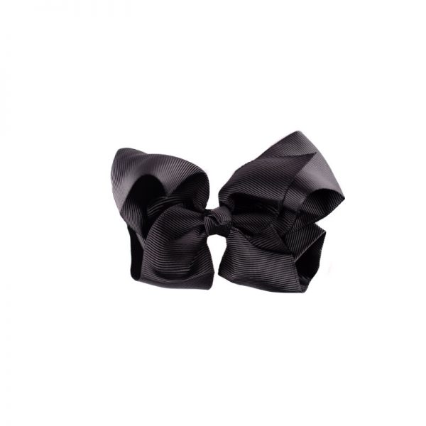 Little Lady B - Hair Bow Black