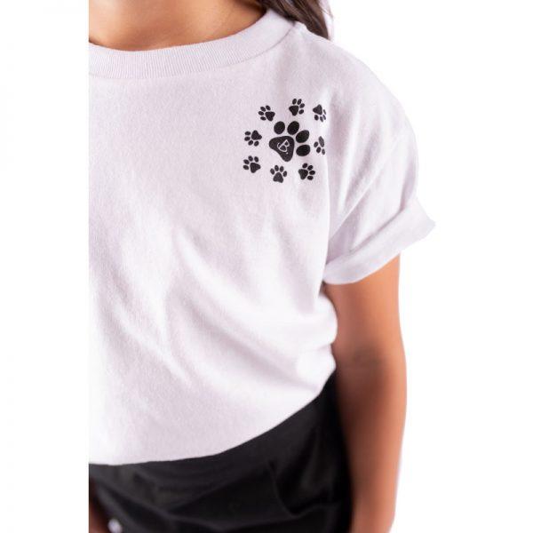 Little Lady B - Paw T-Shirt 4