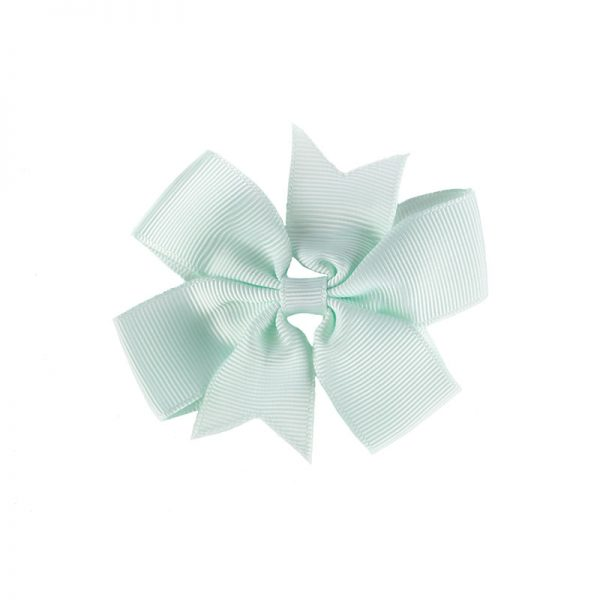 Little Lady B - Mini Hair Bow Mint